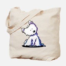 Curious Westie Tote Bag