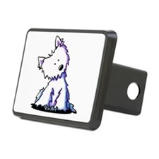 Curious Westie Hitch Cover