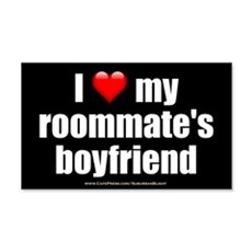 """Love Roommate's Boyfriend"" Wall Decal"