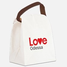 I Love Odessa Canvas Lunch Bag