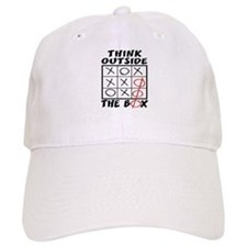 Think Outside The Box Baseball Cap
