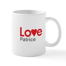 I Love Patrice Mug