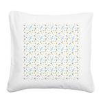 Little Dragonflies Square Canvas Pillow