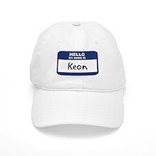 Hello: Keon Baseball Cap