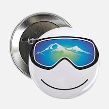"Happy Skier/Boarder 2.25"" Button"