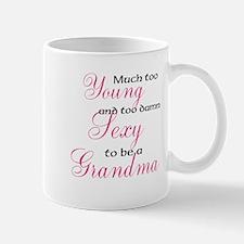 Sexy young grandma Small Small Mug