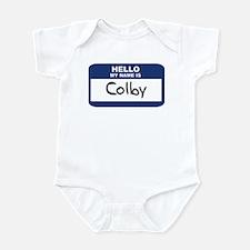 Hello: Colby Infant Bodysuit