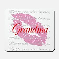Grandma (red) Mousepad