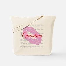 Grandma (red) Tote Bag