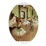 degas Ornament (Oval)