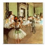 degas Square Car Magnet 3