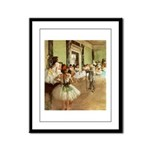 degas Framed Panel Print