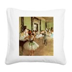 degas Square Canvas Pillow