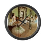 degas Large Wall Clock