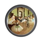 degas Wall Clock