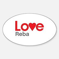 I Love Reba Decal