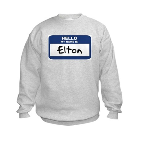 Hello: Elton Kids Sweatshirt