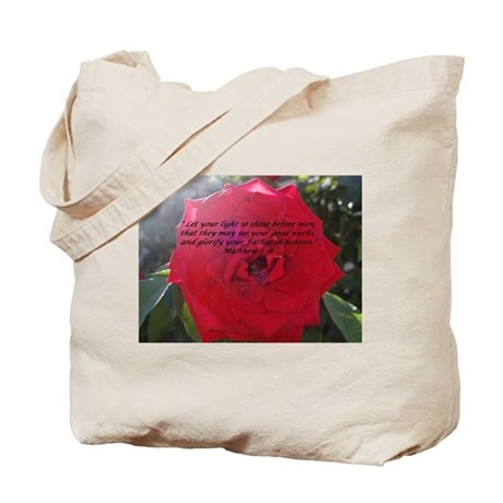 Let Your Light So Shine Tote Bag