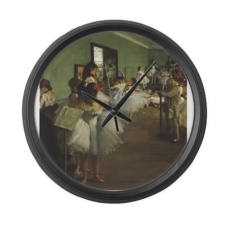 degas Large Wall Clock