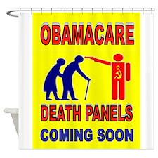 OBAMACARE DEATH Shower Curtain