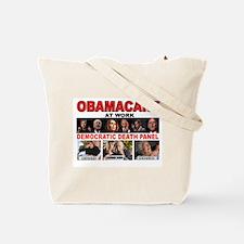 OBAMACARE DEATH Tote Bag