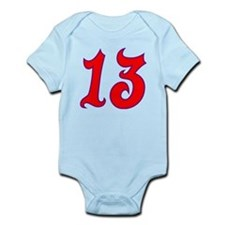 Fire 13 Infant Bodysuit