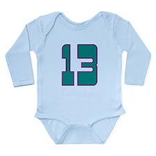 Boy 13 Long Sleeve Infant Bodysuit