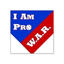 Pro WAR Sticker