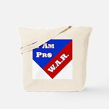 Pro WAR Tote Bag