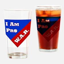 Pro WAR Drinking Glass