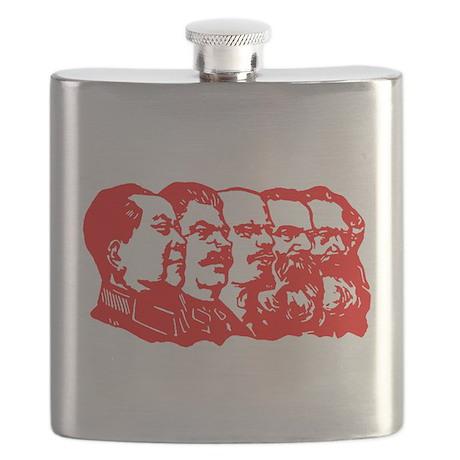 Mao,Stalin,Lenin,Engels,Marx Flask