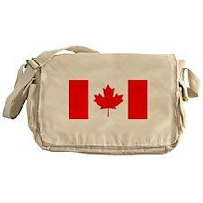 Canadian Flag Messenger Bag