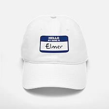 Hello: Elmer Baseball Baseball Cap