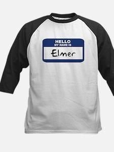 Hello: Elmer Kids Baseball Jersey