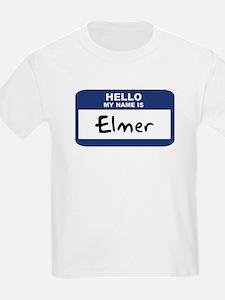 Hello: Elmer Kids T-Shirt