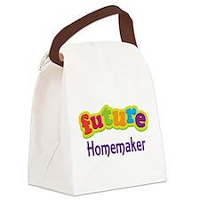 Future Homemaker Canvas Lunch Bag
