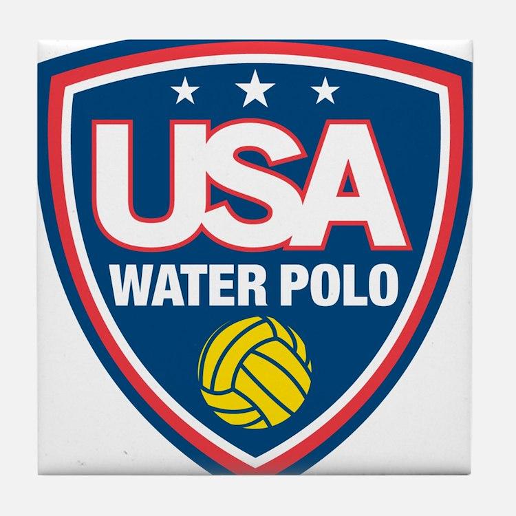 water polo Tile Coaster