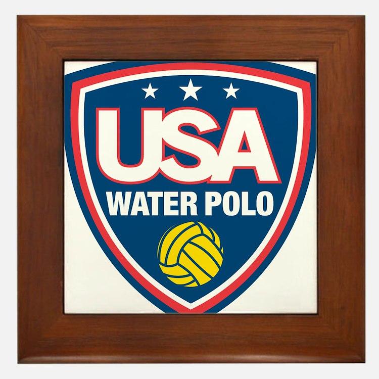 water polo Framed Tile