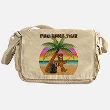 Pau Hana Tiki Messenger Bag