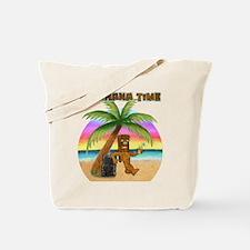 Pau Hana Tiki Tote Bag