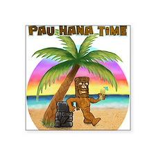 Pau Hana Tiki Sticker