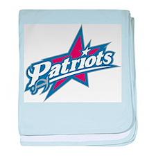 patriots baby blanket