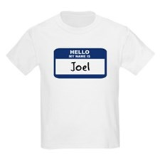 Hello: Joel Kids T-Shirt