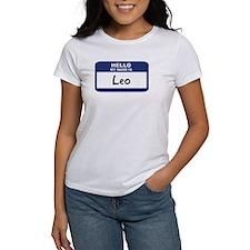 Hello: Leo Tee