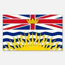 British Columbian Flag Decal