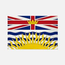 British Columbian Flag Rectangle Magnet