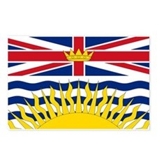 British Columbian Flag Postcards (Package of 8)