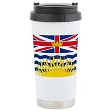 British Columbian Flag Travel Mug