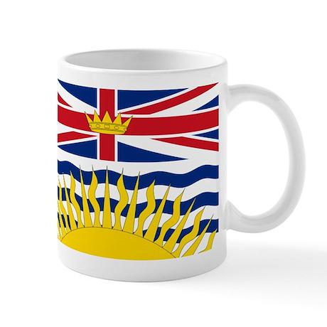 British Columbian Flag Mug