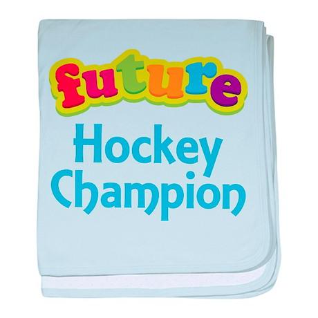 Future Hockey Champion baby blanket